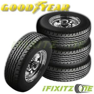 4 Goodyear Wrangler Ht Lt245 75r16 120 116r All Season Tire For Truck Van Rv 4x4