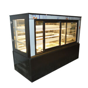 47 countertop Refrigerated Cake Showcase Bakery Cabinet Cooling Display Case220v