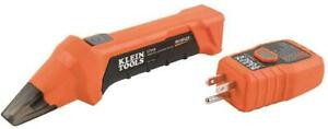 Klein Tools Digital Circuit Breaker Finder With Gfci Outlet Tester New
