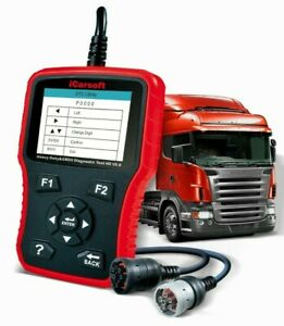 Heavy Duty Diesel Truck Diagnostic Scanner Tool Code Reader Icarsoft Hd V3 0