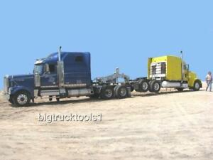 Model 10 Portable Fifth Wheel Wrecker Boom For Semi Truck Towing