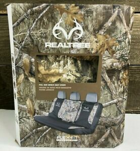 Realtree Edge Camo Seat Cover Universal Full Size Bench Seat Suv Truck Van New