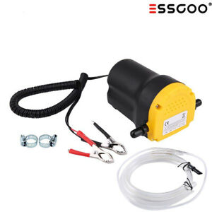 12v 5a Oil Diesel Fluid Extractor Car Electric Transfer Scavenge Suction Pump