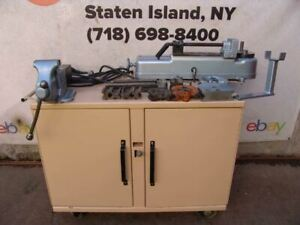 Parker 632 Hydraulic Tube Bender With Dies And Greenlee Pump