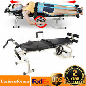 Lumbar Stretch Device Traction Bed Therapy Massage Table For Cervical Spine Sale