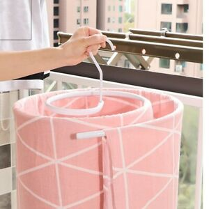 Clothes Spiral Hanger Quilt Cover Drying Rack Hanging For Clothes Trouser Skirt