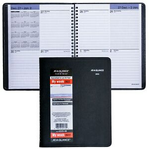 2022 At a glance Dayminder G535 00 Weekly Planner 6 7 8 X 8 3 4