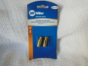 Miller Genuine Mig Contact Tip Adapter For Millermatic And M25 Mig Gun 169728