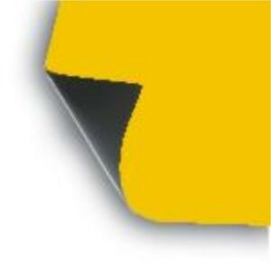 2 X 18 X12 Sheet Flexible 30 Mil Magnet Blank Dark yellow Magnetic Cover