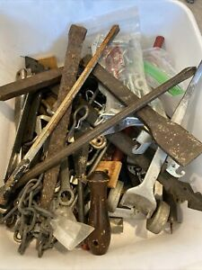 Vintage Huge Mixed Lot Of Hand Tools Hardware Misc Junk Drawer Over 15 Lbs