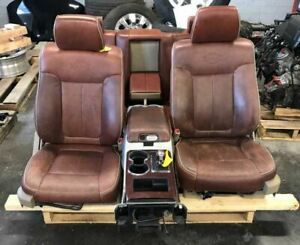 2009 Ford F150 Complete Front Rear Seats W Console king Ranch
