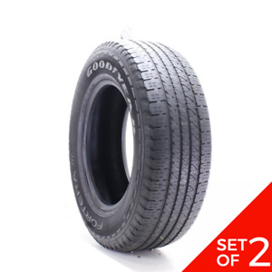 Set Of 2 Used 245 70r17 Goodyear Fortera Hl 108t 5 5 5 32