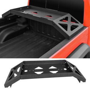 Fit 2020 2021 Jeep Gladiator Jt High Bed Simply Cargo Rack Carrier Cross Bar