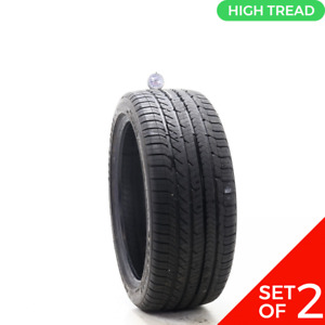 Set Of 2 Used 245 40r19 Goodyear Eagle Sport As 94w 9 10 32