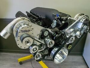 427 Ls Next Twin Torqstorm Supercharged Turn Key Crate Engine Holley Efi 1000hp