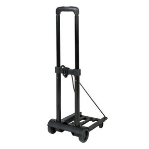 Lightweight Folding Luggage Cart Collapsible Trolley Dolly Push Hand Truck Wheel