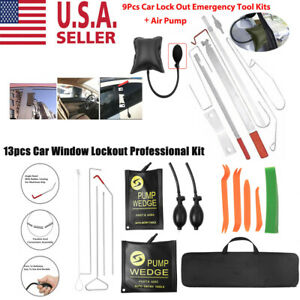 Professional Car Open Unlock Kit Easy Entry Long Reach Tools 10 13 Auto Access