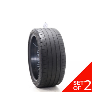 Set Of 2 Used 245 35zr18 Michelin Pilot Super Sport 92y 5 5 32