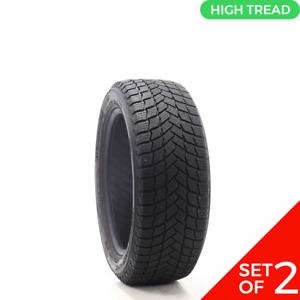 Set Of 2 Driven Once 215 50r17 Michelin X Ice Snow 95h 8 5 32