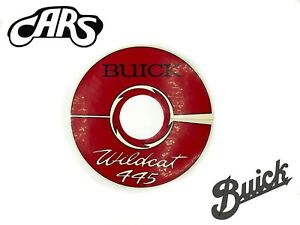 1964 1966 Buick 401 Nailhead 445 Air Cleaner Decal Wildcat Electra Riviera