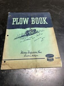 Harry Ferguson Inc plow Assembly And Instruction Manual