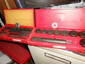 Snap On Tools Bushing Driver Sets A157b A158b