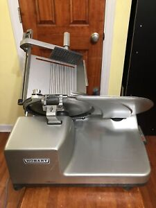 Hobart 3813 Manual Meat Cheese Deli Slicer 3000 Series Big Tray W sharpener