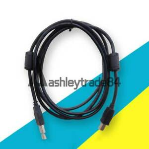 Amsamotion Usb cp1h Programming Cable For Omron Cp1h cp1e cp1l Plc Cable Black