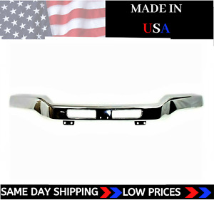 New Usa Made Chrome Front Bumper For 2003 2007 Gmc Sierra Ships Today