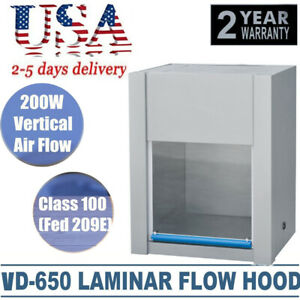 Vertical Ventilation Laminar Flow Hood Air Clean Bench Workstation Health Device