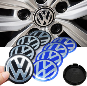 4x Wheel Center Hub Caps Vw Volkswagon 56 60 65 70 75 90mm For Golf Polo Paast