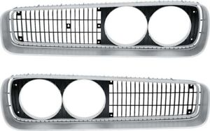 New 1970 Dodge Coronet Super Bee Grilles Pair