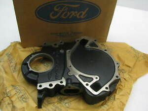 New Genuine Cast Iron Timing Cover Ford 429 460 V8 Heavy Truck F6he 6059 Aa