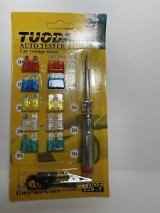 Electrical Continuity 12 24 Voltage High Quality Car Fuse Circuit Tester Kit