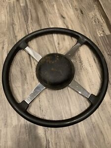 Original Bell Auto Parts 17 Steering Wheel Race Sprint Car Vintage Scta Trog