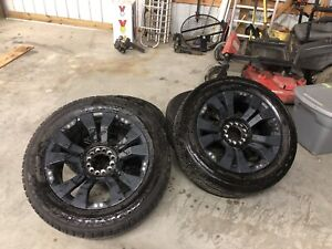 Used 20 Inch Race Line Rims And Tires