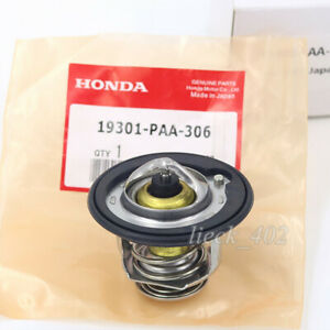 Genuine Thermostat Assembly W Gasket For Honda Acura 19301 Paa 306 Oem