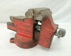 Companion 506 51770 Table Bench Vise 5 25 h X 8 5 L X 3 5 W Red