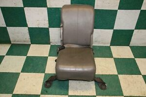 08 10 F250 Tan Vinyl Front Center Jumpseat Console Seat W armrest Oem Assembly