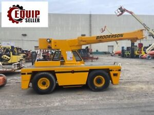 2011 Broderson Carry Deck Hydraulic Crane