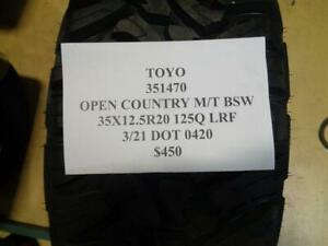 1 New Toyo Open Country M t Bsw 35 12 5 20 125q Lrf Tire 351470 Q1