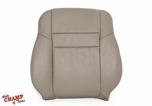 2003 2007 Honda Accord 4dr Ex Se Lx Driver Side Lean Back Leather Seat Cover Tan
