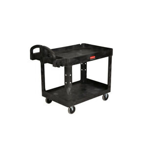 Rubbermaid Commercial Products 33 25 in Utility Cart New lw
