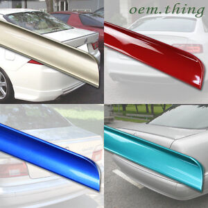 Painted For Acura Lip Spoiler Rsx Rear Trunk 02 06 Boot 2d Coupe
