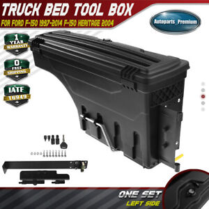 Driver Side Truck Bed Storage Box Toolbox For Ford F 150 1997 2014 Styleside Bed