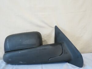 02 09 Dodge Ram 1500 2500 Manual Towing Side View Mirror Right Passenger Oem