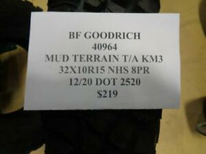 2 New Bfgoodrich Mud Terrain T A Km3 32 10 15 Nhs Tires 40964 Q1