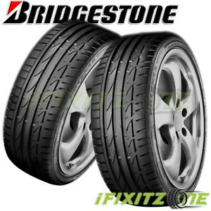 2 Bridgestone Potenza S 04 Pole Position 305 30r19 102y Summer Performance Tires