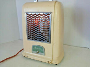 Vintage Arvin Electric Heater Repurposed To Decorative Night Light