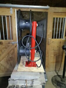 Reelcraft T 2464 0 Dual Cable Reel Welder Welding Lead 300 Amps Max T24640 3ve31